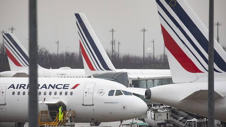 Air France-KLM erwartet weitgehenden Geschäftsausfall bis Ende Mai. (Archiv)