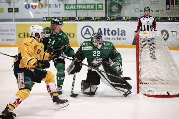 Der EHCO gewinnt die erste Partie des Playoff-Halbfinals gegen Langenthal mit 2:1.