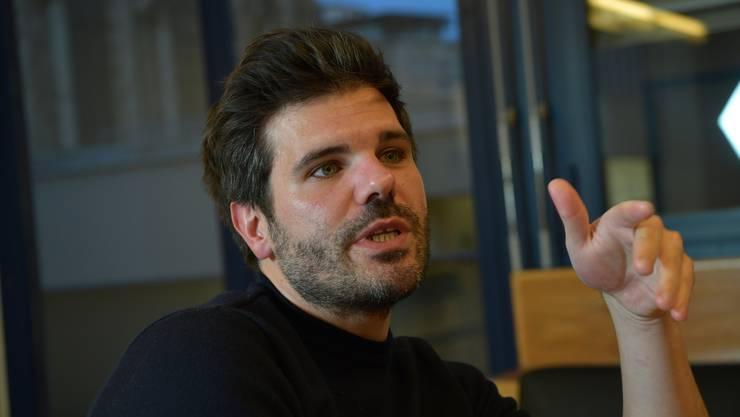 Der Schauspieler und Autor Thiemo Strutzenberger präsentiert sein neustes Stück am Theater Basel.
