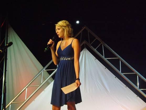 Nicole Häberli führte charmant durch den Abend