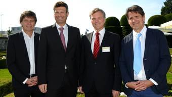 Verleihung des Jungunternehmerpreises 2012 der Stiftung De Vigier