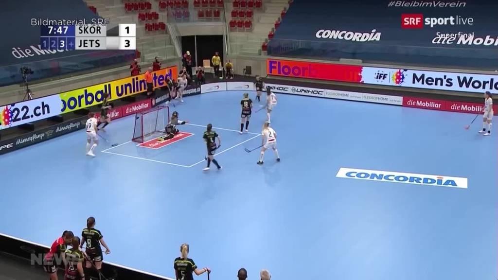 Superfinal im Unihockey der Frauen: «Skorps» könnten heute Geschichte schreiben