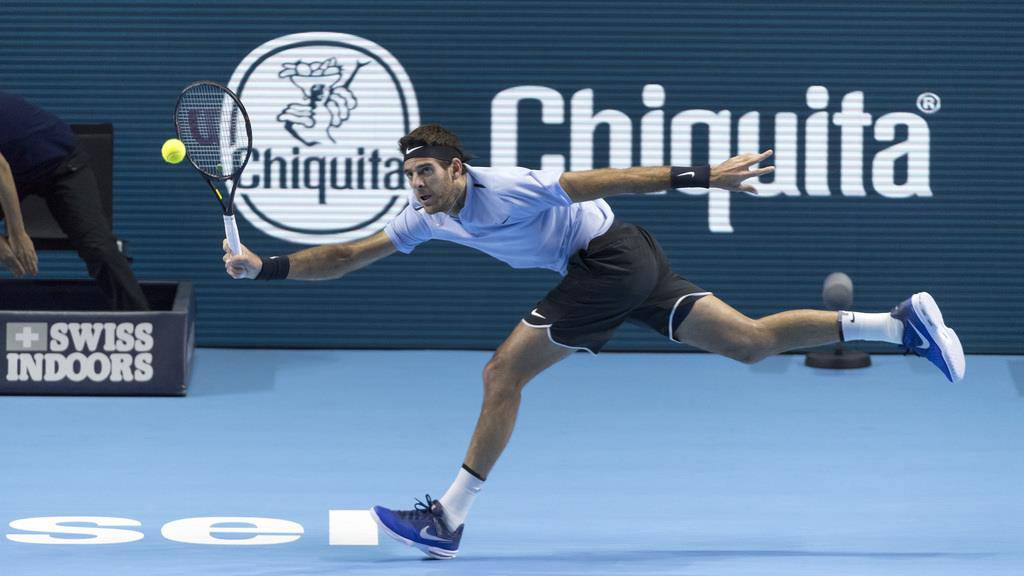 Federers Sieg am Swiss Indoors in Basel (© Keystone)