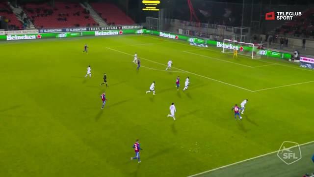 Super League, 2018/19, 18. Runde,  FC Sion – FC Basel, 1:1 van Wolfswinkel