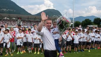 Livio Bordoli verabschiedet sich nach dem Missverständnis beim FC Aarau gen Tessin.