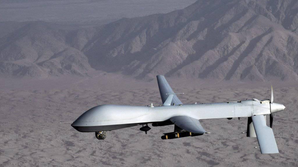 Predator-Drohne der US-Luftwaffe: Die USA wollen sich Exportregeln für die unter Umständen auch bewaffneten unbemannten Fluggeräte unterwerfen. (Archivbild)