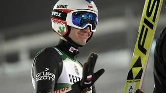 Im Moment glänzend in Form: die polnischen Skispringer um Teamleader Kamil Stoch
