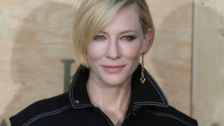 Bringt Glamour nach Davos: Die australische Schauspielerin Cate Blanchett wird am WEF für ihren Einsatz für Flüchtlinge geehrt. (Archivbild)