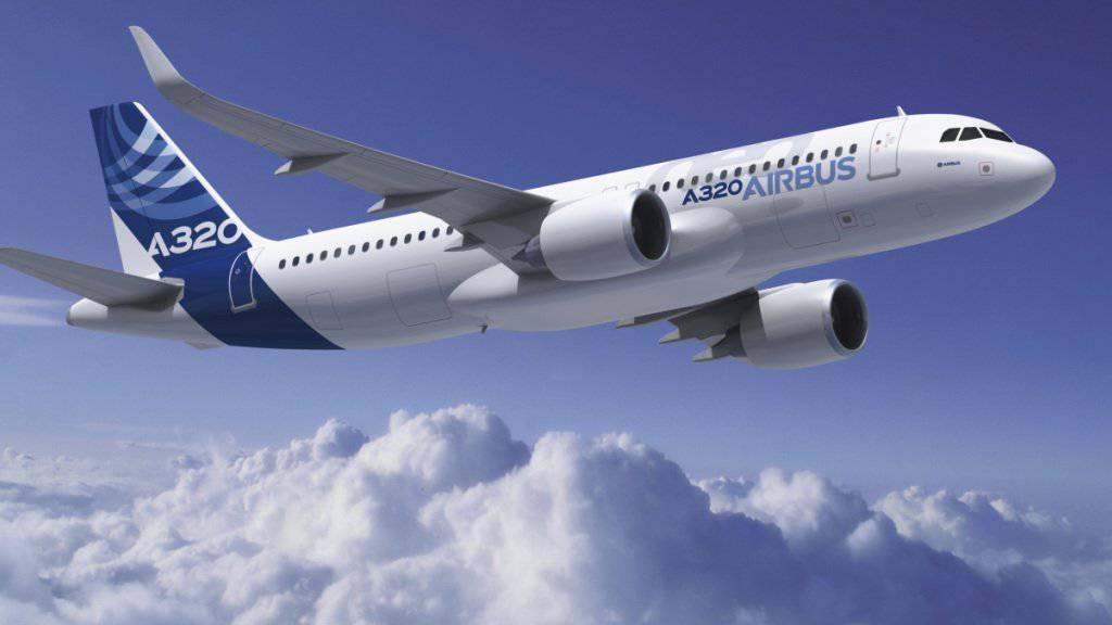 Die Fluggesellschaft Gulf Air kauft 29 Mittelstreckenflugzeuge des Typs A320neo. (Archiv)