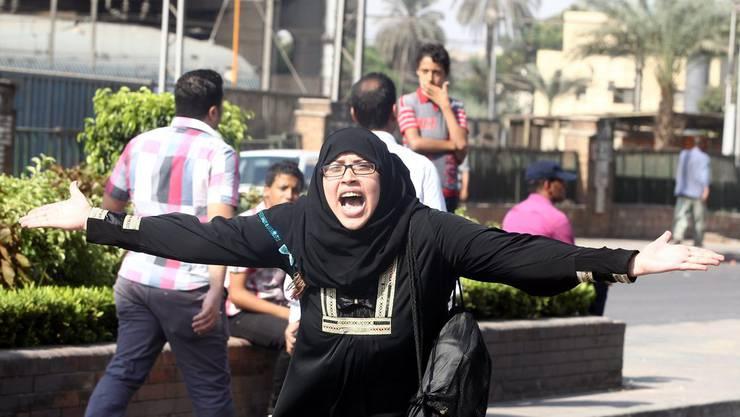 Wut und Verzweiflung in den Strassen Kairos