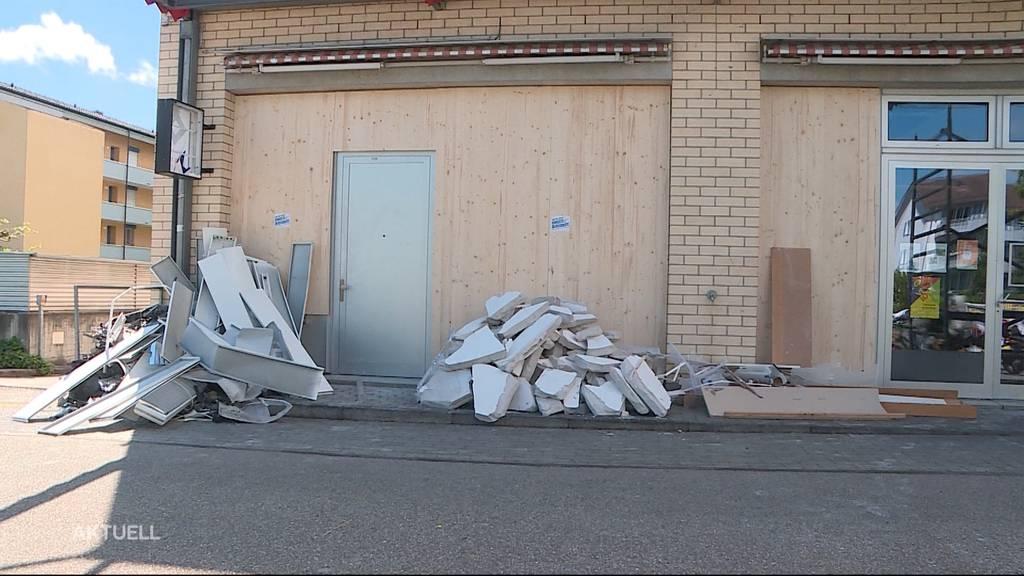Quartierverein verliert Lokal durch Bankomatsprengung