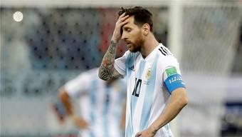 Ratloser Star: Lionel Messi.