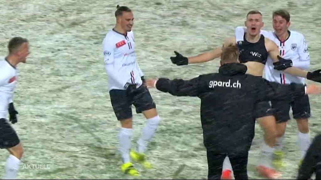 FC Aarau kickt Sion aus dem Cup