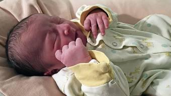 Janis Manuel kam am 1. Januar im Kantonsspital zur Welt – 1641 Babys waren es im Vorjahr.