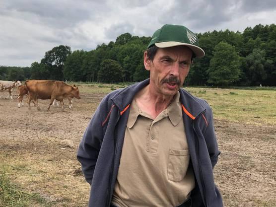 Landwirt Jürgen Frenzel führt in Brandenburg einen Agrarbetrieb mit fast 1000 Tieren. Er sagt: «Die Mutterkuh-Haltung lohnt sich wirtschaftlich wegen des Wolfes nicht mehr.»