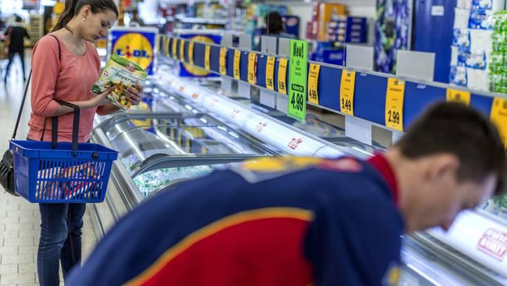Lidl profitiert am meisten von den tiefen Preisen im Detailhandel.