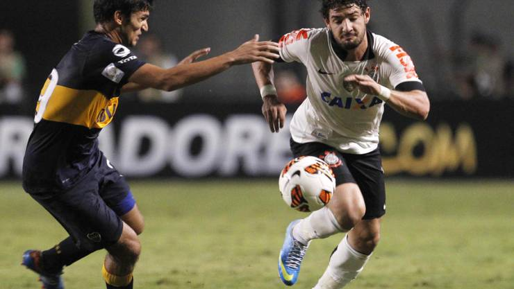 Kommt von Corinthians leihweise bis Ende Saison zu Chelsea: Alexandre Pato (rechts)
