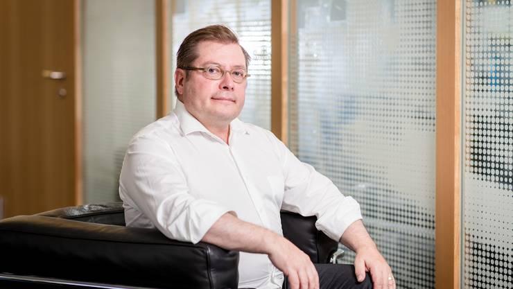 Thomas Jung, neuer Zürcher Kantonsbaumeister Zürich. Er war früher 8 Jahre lang Dietiker Stadtarchitekt. Fotografiert am 10. Juli 2019.