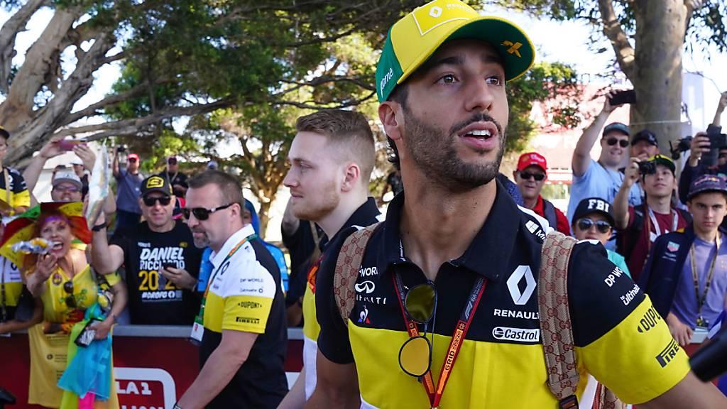 Daniel Ricciardo erwartet einen chaotischen Neustart in der Formel 1