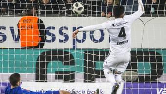 Eray Cömert rettet dem FC Basel einen Punkt