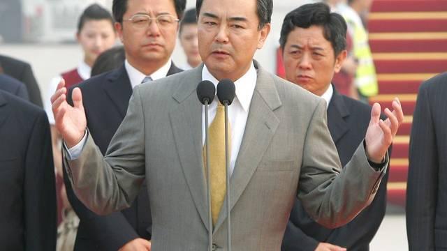 Chinas neuer Aussenminister Wang Yi (Archiv)