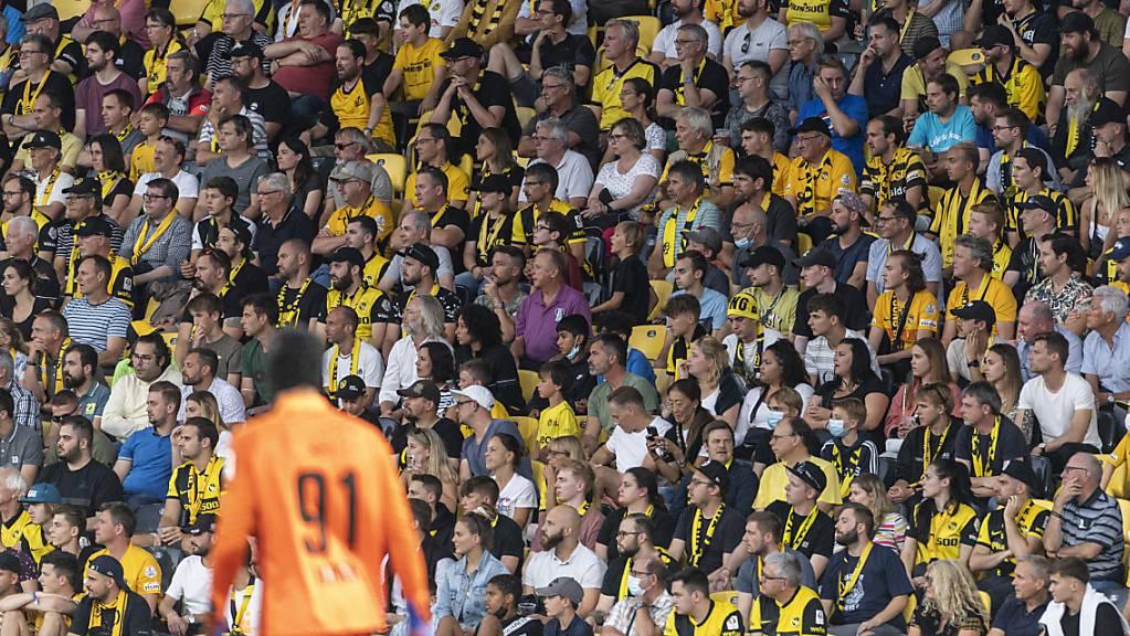 Die Young Boys wollen ihren treuen Fans Champions-League-Fussball bieten können