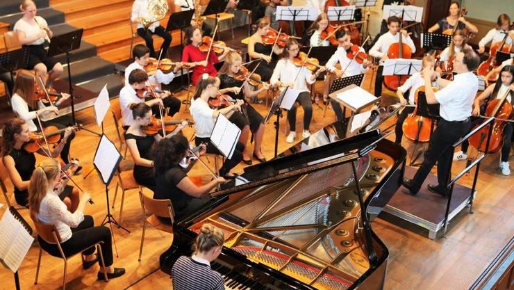 """Konzerte des regionalen Jugendsinfonieorchesters """"rjso"""" in Solothurn und Grenchen"""
