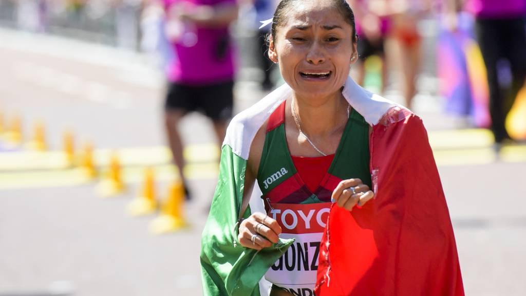 Maria Guadalupe Gonzalez will die Strafe für den Gebrauch von muskelbildenden Präparaten nicht hinnehmen