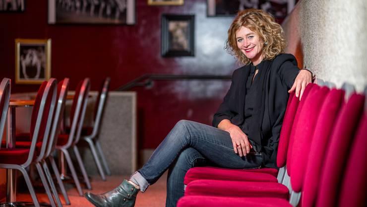 Hanna Scheuring leitet seit Oktober 2014 das Bernhard Theater.