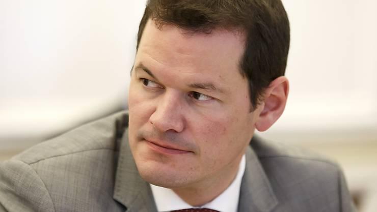 Der Genfer Staatsrat Pierre Maudet ist mit dem Budget seiner Regierungskollegen für das nächste Jahr nicht einverstanden. (Archivbild)