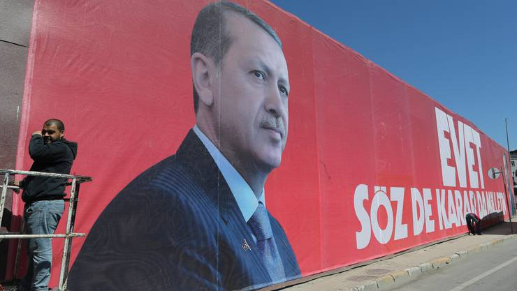 Hofft am kommenden Sonntag um die Zustimmung der Wähler: Recep Tayyip Erdogan.