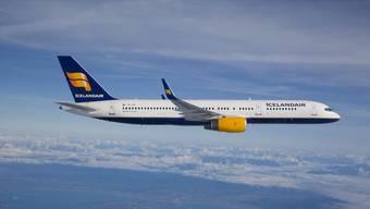Flugzeug der Iceland Air.