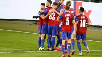 Dank eines 4:0-Gesamtskores gegen Frankfurt zieht der FCB zum dritten Mal in den Europa-League-Viertelfinal ein.