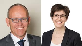 Christian Oberholze und Fabienne Fonti.
