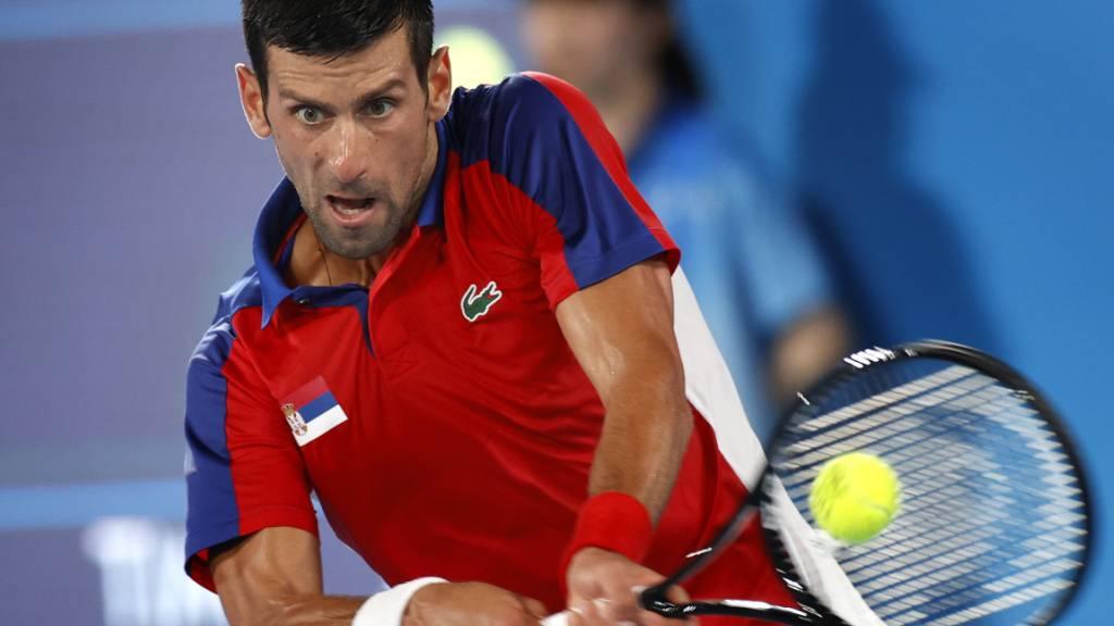 Novak Djokovic verliert nach Satz- und Break-Führung