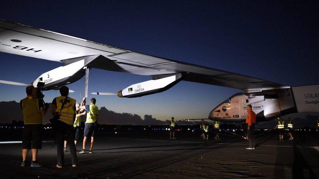 """Solar Impulse 2"" auf nächster Etappe"