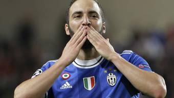 Gonzalo Higuain machte den Unterschied für Juventus Turin