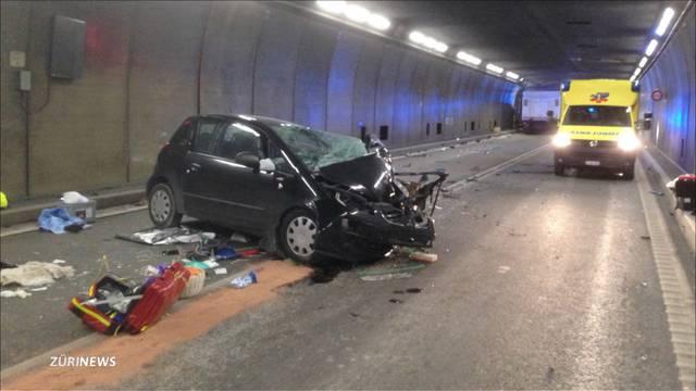 Gotthard-Unfall fordert zwei Tote