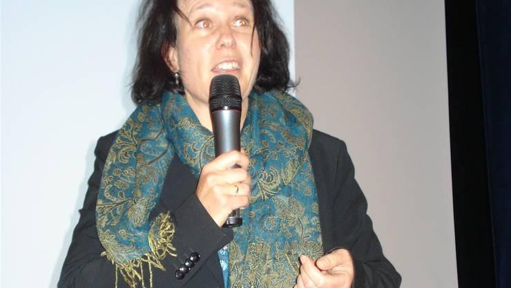 Gemeinderätin Françoise Moser trat für die kostenpflichtige Grüngutentsorgung ein, wwl