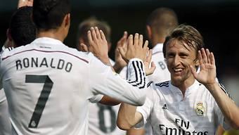 Ronaldo und Modric schossen Real Madrid zum Auswärtssieg