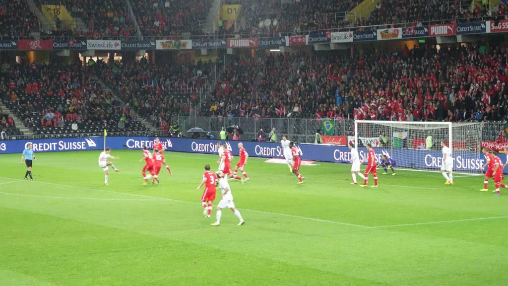 Gewinne Tickets für Schweiz-Nordirland