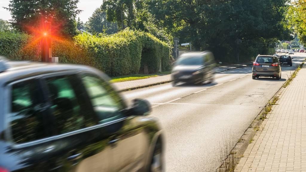 Über die Hälfte der Fahrer sind zu schnell unterwegs