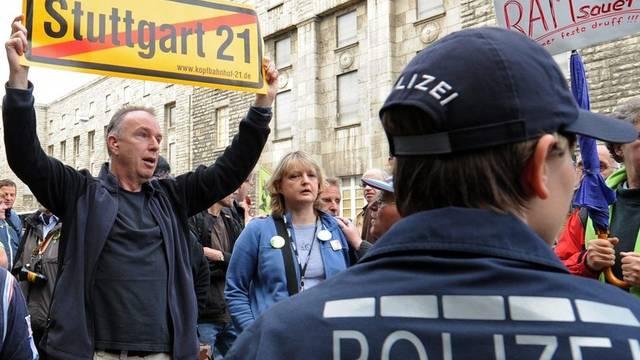 Proteste gegen das Bauprojekt (Archiv)