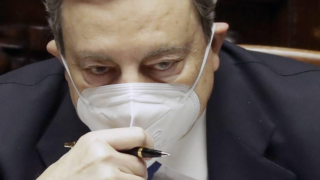 Italiens Regierungschef Mario Draghi. Foto: Andrew Medichini/AP/dpa