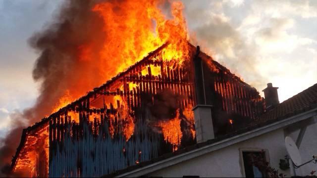 Grossbrand wegen technischem Defekt