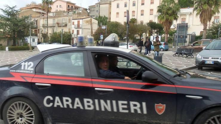 Im Bild die Mafia-Hochburg Corleone südlich von Palermo (Symbolbild vom November 2017).