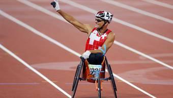 Heinz Frei holt Goldmedaille in London.