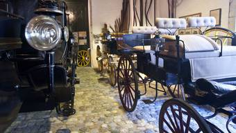Bald nicht mehr hier zu sehen: Kutschen im Museum für Pferdestärken