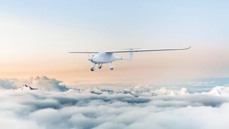 Die Argus-Drohne von Altenrhein basiert auf einem umgebauten Ultraleichtflugzeug der slowenischen Firma Pipistrel.