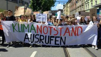 Auch in Wettingen gelangt die Klimadebatte von der Strasse in die Politik.